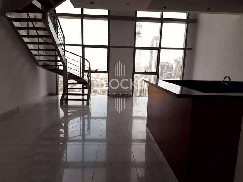 Duplex 2BR  | Stunning Panoramic View | Vacant