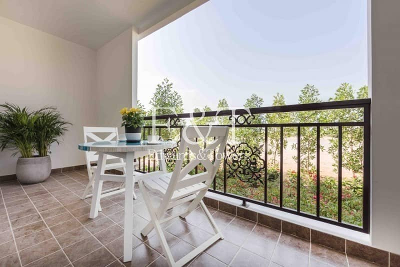 2 1BR+Study | Balcony | Unfurnished | JGE
