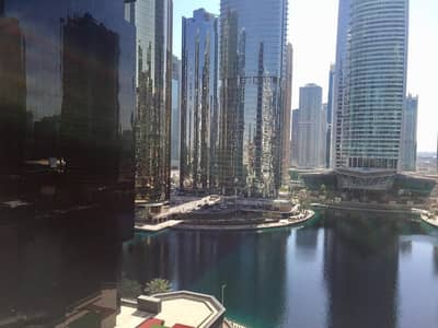 Studio for Rent in Jumeirah Lake Towers (JLT), Dubai - Studio Available with LAKE view  in dubai Arch FOR  AED  30k!!