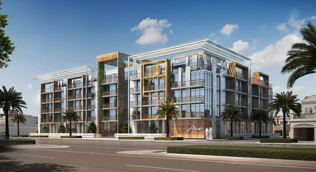 One Bedroom Apartment For Sale in Aria Jumeirah Village Circle