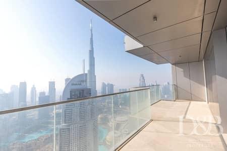 4 Bedroom Penthouse for Sale in Downtown Dubai, Dubai - Genuine Resale Unique Penthouse | Private Terrace