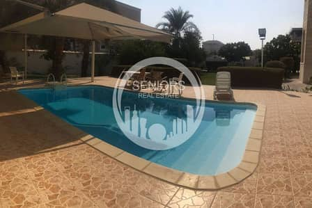 Huge 6 Bedroom villa in Khalifa City A