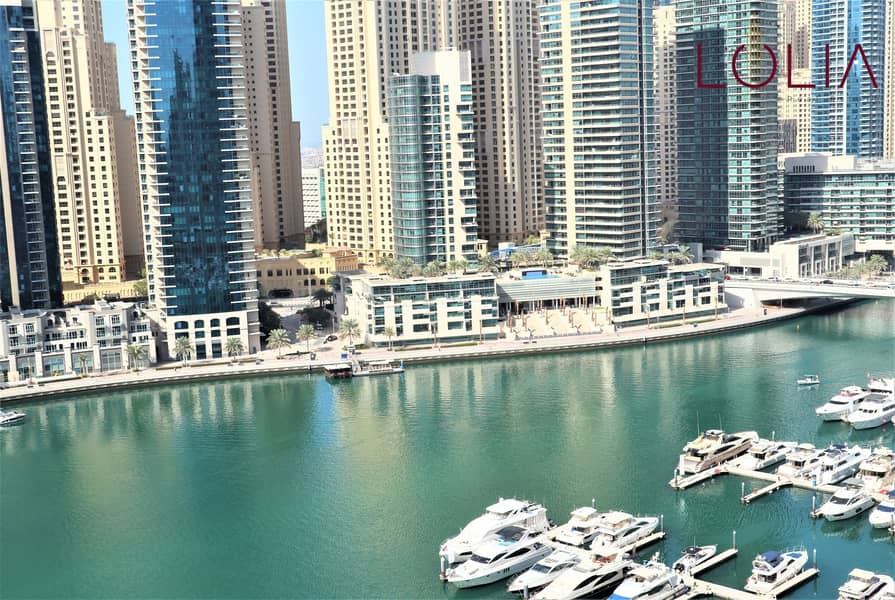11 Marina view | Spacious 2BR + Maid for Rent