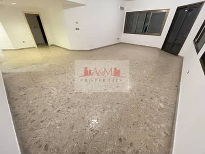 فلیٹ 3 غرف نوم للايجار في شارع السلام، أبوظبي - ONE MONTH FREE.: Three Bedroom Apartment with Maids room & Basement parking for AED 75