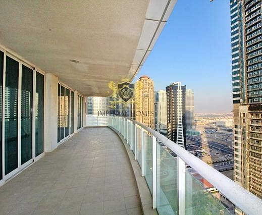 2 3 Bed + M (2500sqft) Movenpick Laguna Tower JLT @140k