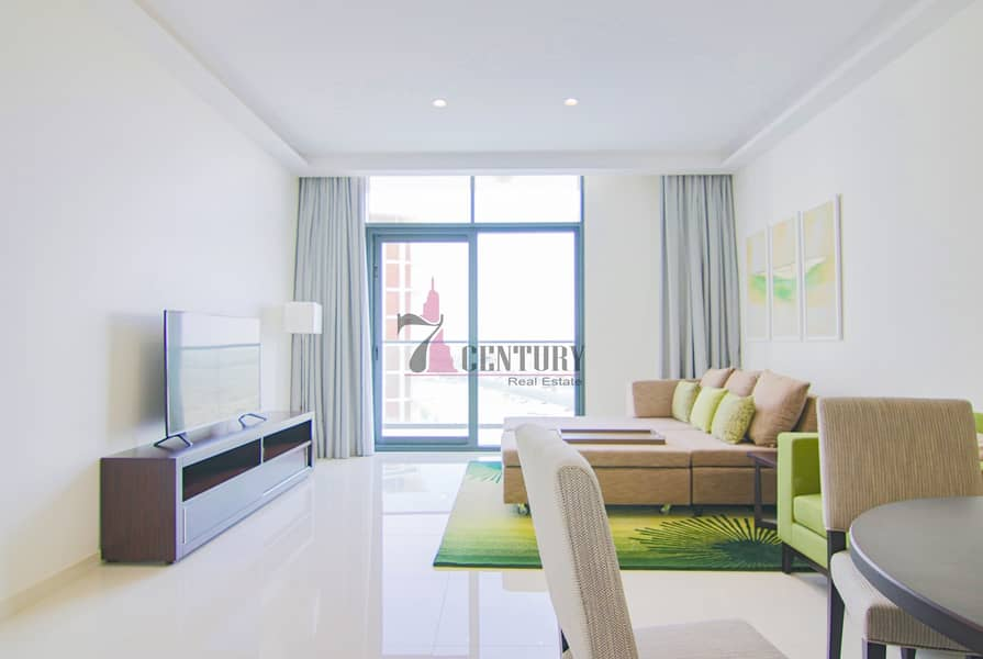 2 Fully Furnished   1 Bedroom Apartment   Brand New