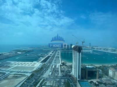 شقة 2 غرفة نوم للايجار في دبي مارينا، دبي - High Floor / Well Maintained / Unfurnished