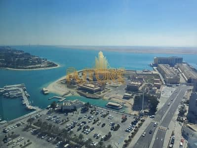 1 Bedroom Apartment for Rent in Al Bateen, Abu Dhabi - Huge Size 1BR with Sea View | Pool & Gym | 6 Payments