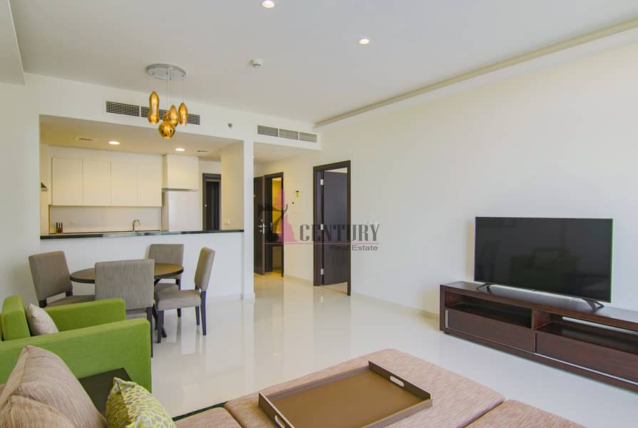 2 Big Space | Fully Furnished | 1 Bedroom Apt