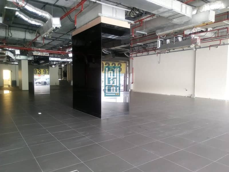 2 SEMI FITTED SHOWROOM ON SHEIKH ZAYED /PRIME LOCATION