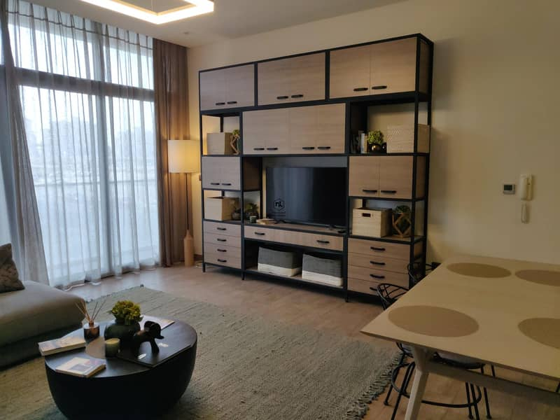 1BR spacious Layout   Infinti Pool and Open View