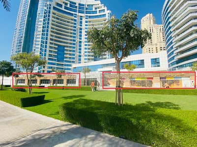 Shop for Sale in Dubai Marina, Dubai - Five retails - long facade - Marina Walk