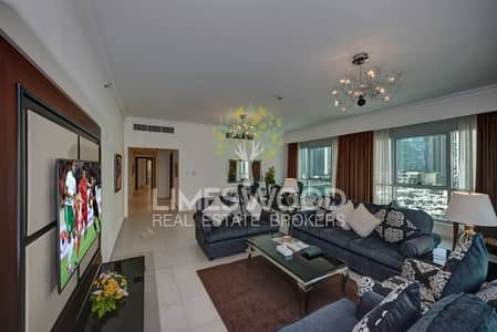 3 Bedroom Hotel Apartment for Rent in Dubai Marina, Dubai - Full Marina View 3 BR Hotel Apartments Near Metro