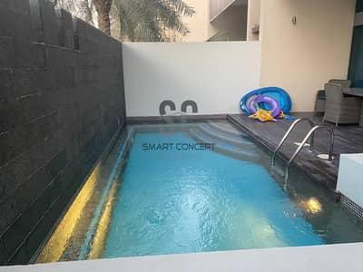 تاون هاوس 4 غرف نوم للبيع في شاطئ الراحة، أبوظبي - Luxury Living | 4BR  Townhouse | Private Pool
