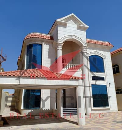 Modern villa for sale With large areas And luxury European design And banking facilities at the most prestigious sites