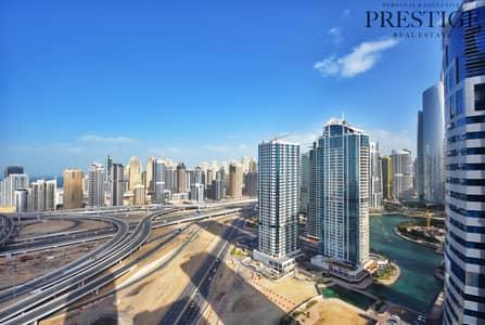 فلیٹ 2 غرفة نوم للبيع في أبراج بحيرات الجميرا، دبي - 2 Bed I Lake & Sea View | Lake Point Tower | JLT