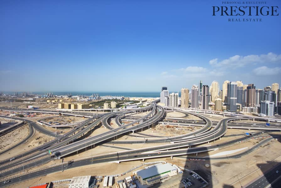 2 2 Bed I Lake & Sea View | Lake Point Tower | JLT