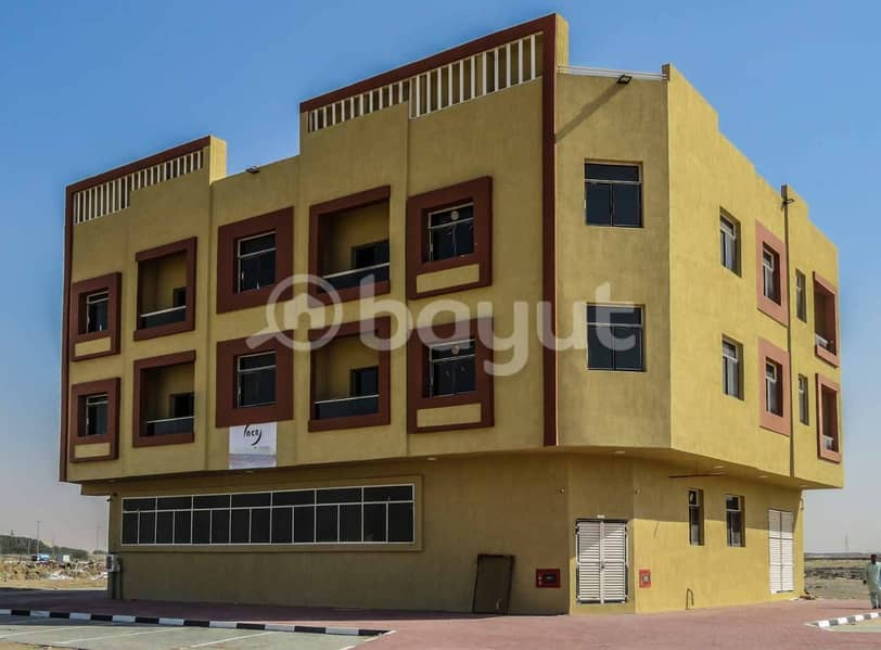 A new building for rent,