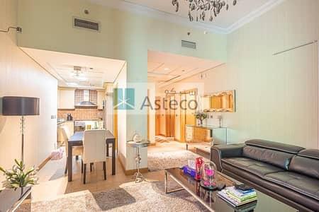 شقة 1 غرفة نوم للايجار في نخلة جميرا، دبي - Gorgeous Fully Furnished unit |  Ready to Move-in