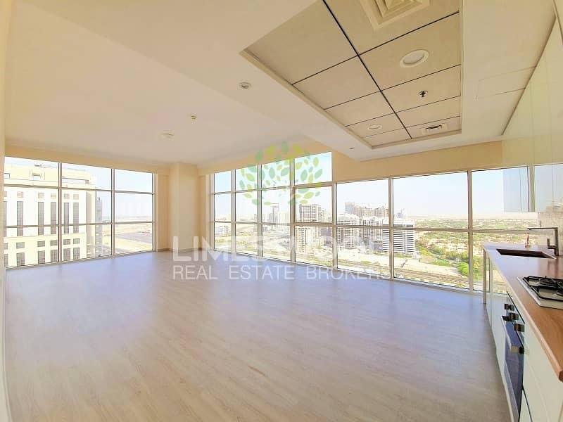 Stunning Golf View | Big 2 BR Maids | Wooden Floor