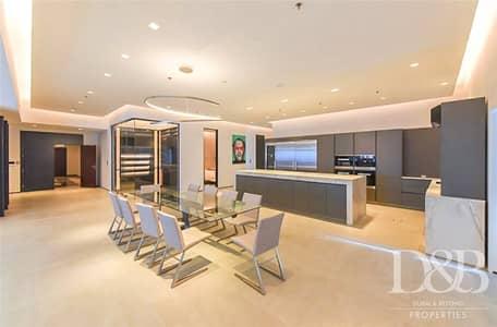 بنتهاوس 4 غرف نوم للبيع في دبي مارينا، دبي - Furnished | Upgraded | Sea View | Private Pool