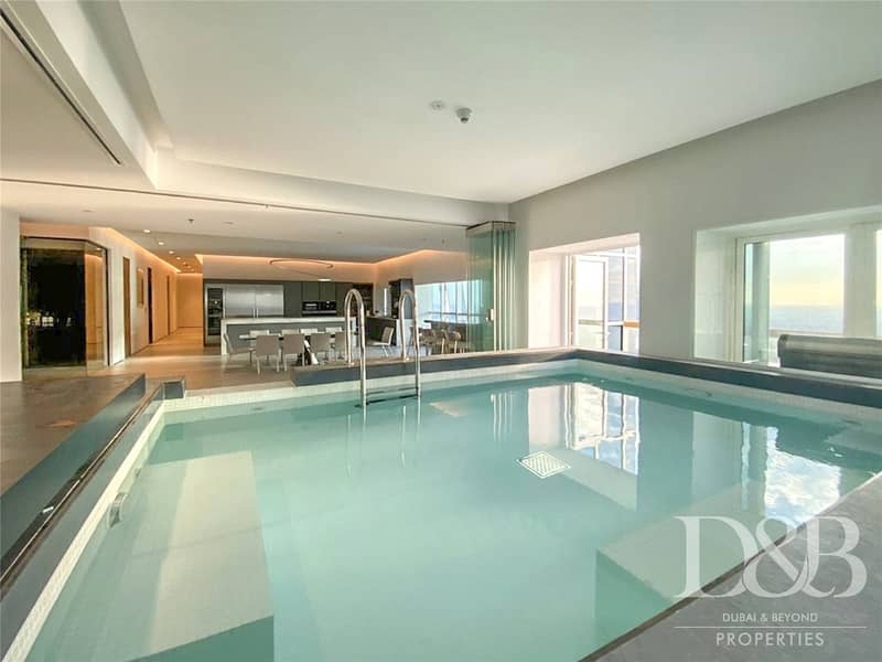 2 Furnished | Upgraded | Sea View | Private Pool