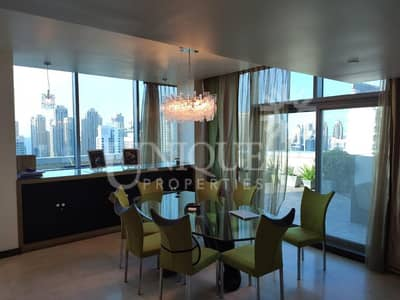 3 Bedroom Penthouse for Sale in Jumeirah Lake Towers (JLT), Dubai - 3 BR + Maid's Penthouse | Prime Location