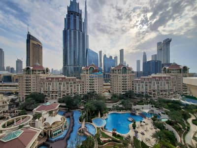4 Bedroom Flat for Rent in Downtown Dubai, Dubai - Private Pool | Garden N Burj Khalifa View | COMMISSION FREE | DOWNTOWN