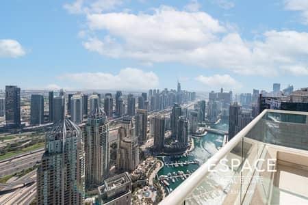 5 Bedroom Penthouse for Sale in Dubai Marina, Dubai - Half Floor Penthouse | Panoramic Views | VOT
