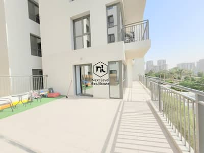 2 Bedroom Apartment for Rent in Town Square, Dubai - TERRACE APARTMENT | BOULEVARD VIEW | 2 BED ROOM | PARKING+LAUNDRY | ZAHRA | TOWN SQUARE