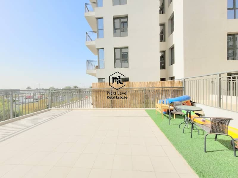 17 TERRACE APARTMENT | BOULEVARD VIEW | 2 BED ROOM | PARKING+LAUNDRY | ZAHRA | TOWN SQUARE