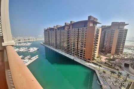 3 Bedroom Flat for Rent in Palm Jumeirah, Dubai - 3 Bed  B Type | High floor | Large Balcony