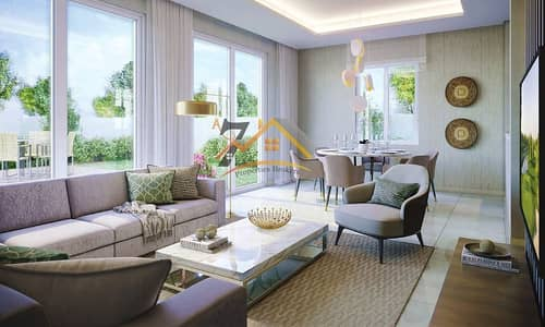 3BR+MAID IN AMARANTA NEAR TO THE POOL FACING THE PARK