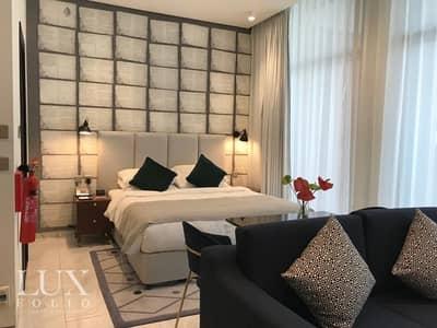 استوديو  للايجار في الخليج التجاري، دبي - Luxury Finish |Balcony| Fully Furnished