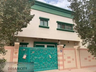5 Bedroom Villa for Rent in Al Rawda, Ajman - For rent a villa in the Rawda area, second piece of the neighboring street, close to all services, corner of two streets, a large area