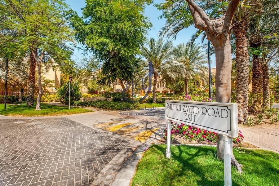 2  3 & 4 Bedroom for Rent Villas in Al Sufouh 2