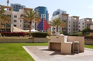 2BR IN AL DHAFRAH-2 PARK & MAIN ROAD FACING UPGRAGED KITCHEN