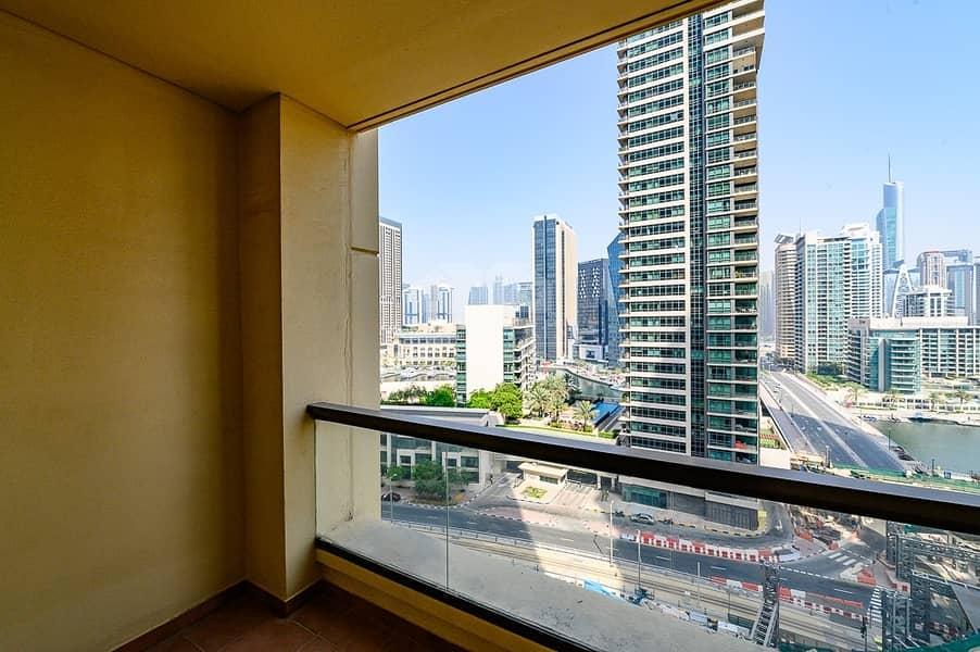 Bahar Full Marina View 2 beds rented at 80k