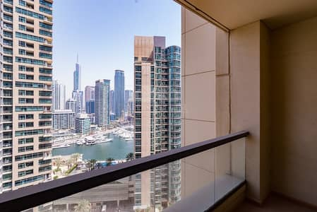 فلیٹ 2 غرفة نوم للبيع في جميرا بيتش ريزيدنس، دبي - Rimal 1 Marina view 2 bedroom