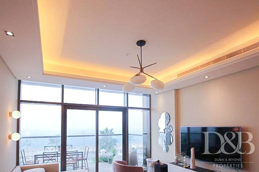 2 Full Sea View   Beach Access   Vacant   Furnished
