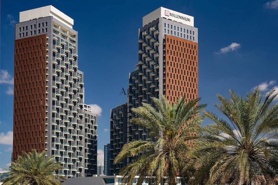 9 All-Inclusive| Fully Furnished| Service apartment Millennium Atria Business Bay