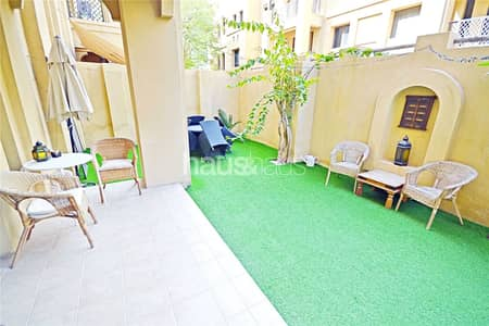 3 Bedroom Apartment for Sale in Old Town, Dubai - Rare Garden Unit | Maids Room Plus Study |