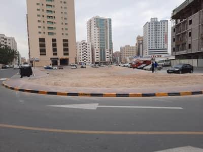 Plot for Sale in Al Nuaimiya, Ajman - Land in Naimiya, an excellent location, second piece of Sheikh Khalifa Street