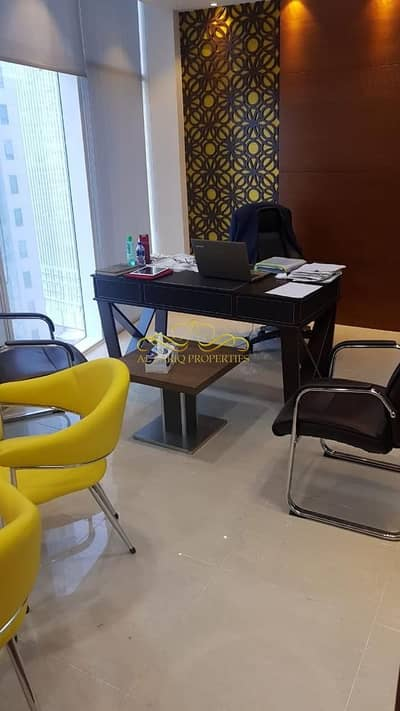 Floor for Rent in Business Bay, Dubai - Furnished Ofc | Rent | Business Bay | Near Metro