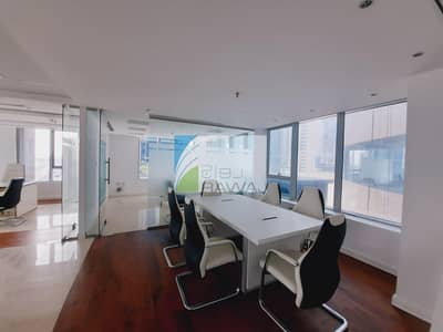 Furnished Office with Partition for Rent at Ontario Tower