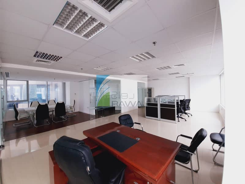 FURNISHED OFFICE WITH PARTITION FOR RENT IN ONTARIO TOWER