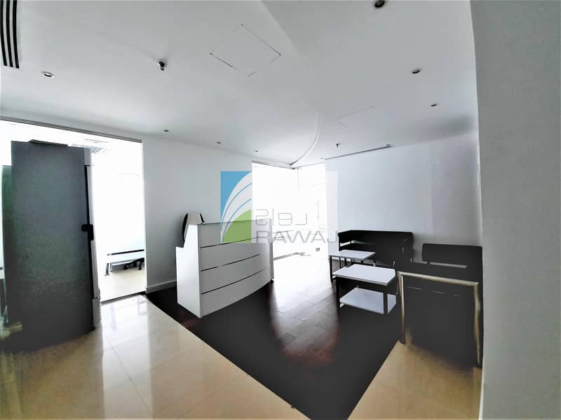 2 FURNISHED OFFICE WITH PARTITION FOR RENT IN ONTARIO TOWER
