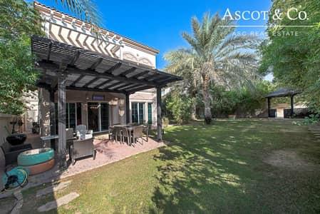 فیلا 2 غرفة نوم للبيع في مثلث قرية الجميرا (JVT)، دبي - Vacant on Transfer | Mature Green Garden