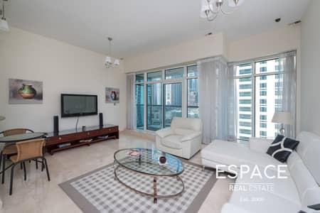 شقة 2 غرفة نوم للايجار في دبي مارينا، دبي - Avl March 15th | Elegantly Furnished 2Bed