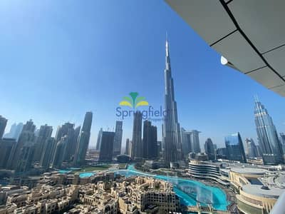 2 Bedroom Flat for Sale in Downtown Dubai, Dubai - Real Listing | Fountain and Burj Khalifa Views